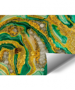 resin mural reproduction abstract