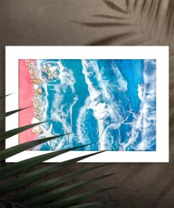 Poster - Sandy beach and sea