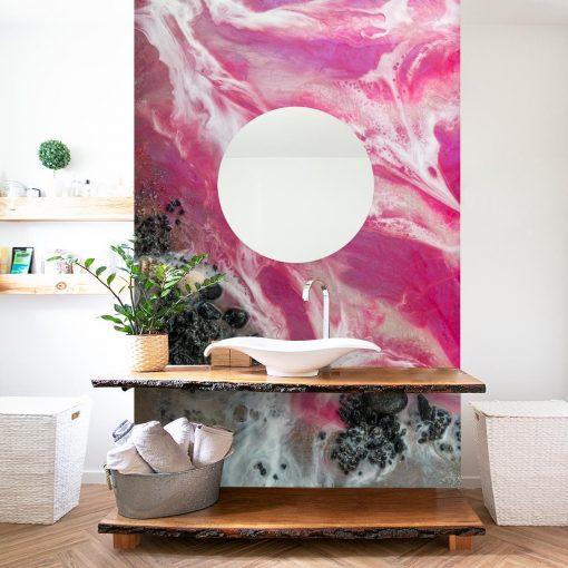 Sea mural for the bathroom