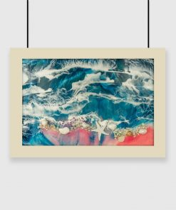 Poster - Sea and waves