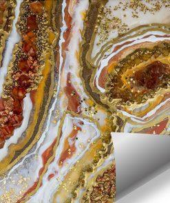 Wall Mural - Geode art