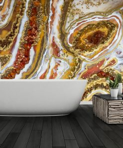 Wall mural - Resin painting reproduction
