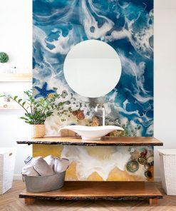 Wall mural resin sea - Sea theme